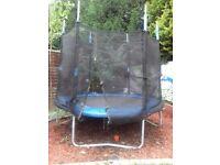 Large trampoline 7 feet by 8 feet