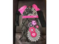 Desigual Girls Cotton Dress age 9-10yrs