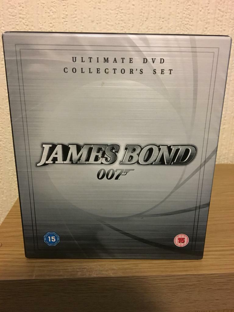 James Bond Ultimate DVD Collector's Set