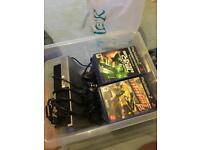 PS2 with games and controls for sale