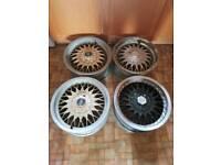 4 centra alloy wheels