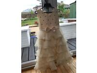 Prom/wedding party dress age 12 approx