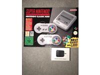 Nintendo SNES mini brand new unopened