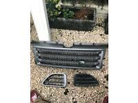 Range Rover sport grill and side vents