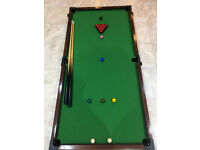 Childs Snooker Table