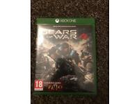 Gears of war 4 (plus four bonus games) Xbox One