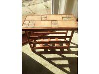 Coffee Table/Magazine Rack.