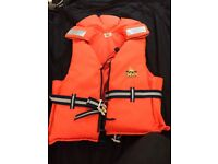 Life jackets/ buoyancy aids kayaking: jet sling new/ used all sizes