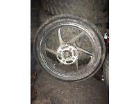 Honda cbf/cbr wheels
