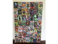 DC Comics canvas