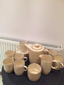 Poole Pottery tea set for 8