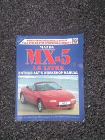 Mazda MX-5 MK1 workshop manual