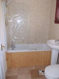 2/3 bedroomed furnished flat to let in Fort William. Close to town centre with stunning views.