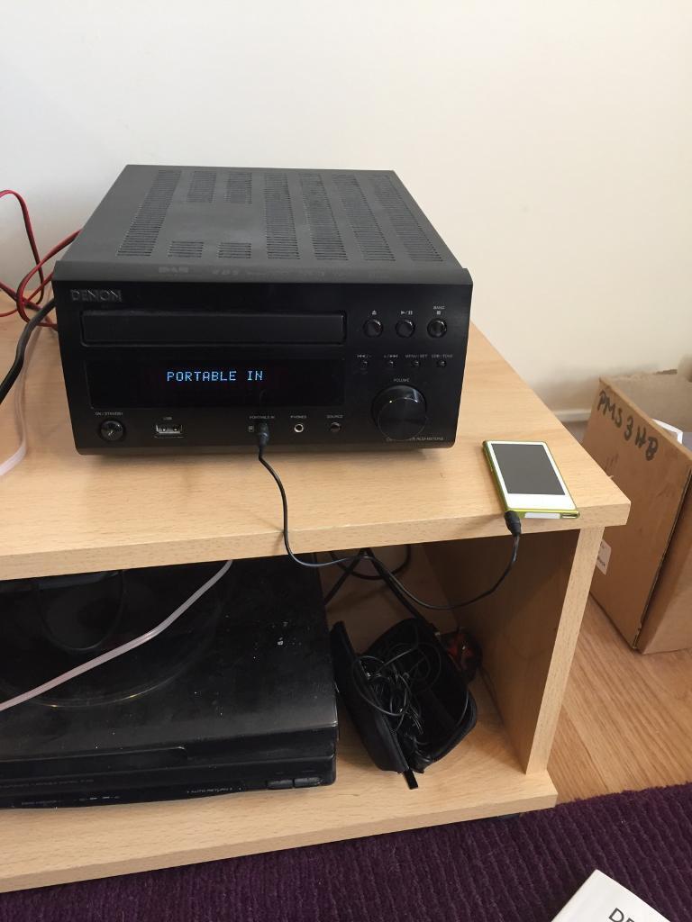 Denon cd receiver