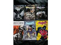 Batman, Batgirl and American Vampire comics