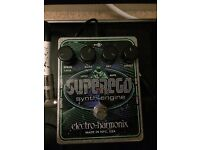 ELECTRO HARMONIX EHX SUPEREGO SYNTH ENGINE GUITAR PEDAL