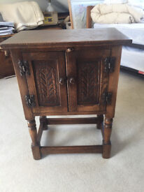 Antique Bed Side Table : JUST REDUCED