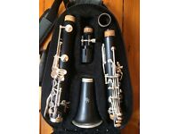 Clarinet - Quality Trevor James TJJ5 Clarinet with Carry Case, Stand, Music & CD