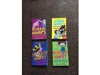Horrid Henry books x3