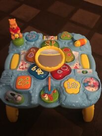 Activity table toy Winnie the pooh