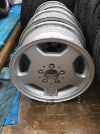 """Mercedes AMG 15"""" alloy Wheels"""