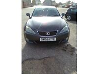 2006 Lexus IS 220d sport. Manual diesel. Mot Oct 18 tax May 18. Fully loaded Inc integrated sat nav