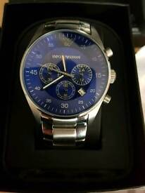 Genuine Armani watch never been warn in box
