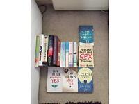 Joblot of 15 books, all bought brand new