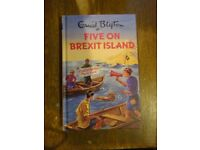 Five on Brexit Island Enid Blyton style book