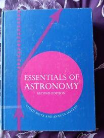 Essentials Of Astronomy Book - Motz & Duveen