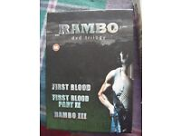 Rambo - dvd trilogy - 3 dvd Box Set
