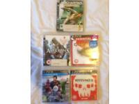 5 games Playstation 3 PS3