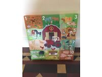 Numbers Nursery Picture Delightful Bright Colours