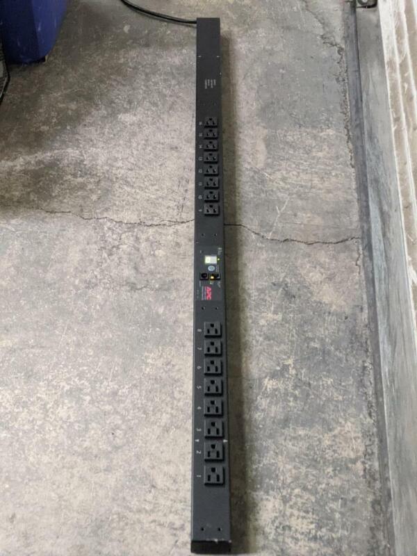 APC AP7831 Rack PDU, Metered, Zero U, 15A, 100/120V, (16) 5-15