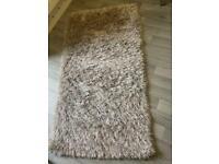 Grey sparkle rug