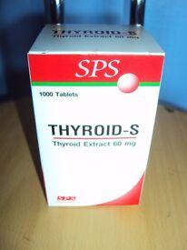Thyroid-s - thyroid nutritional support - 1000 - expiry 30/11/19