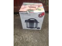 Salter 6L pressure cooker - Brand New