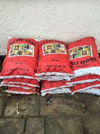 House coal 25kg bags £8 each rudrum sons