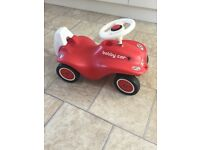 Red sturdy bobby outdoor indoor ride on car age 1 2 3