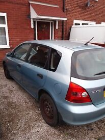Honda Civic 1.6 Petrol, Mileage is only 75,000