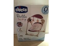 New baby swing suitable from 0+