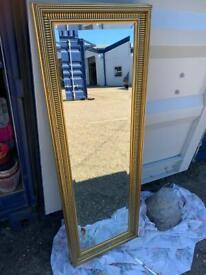 4 beautiful Vintage - Antique etc Mirrors
