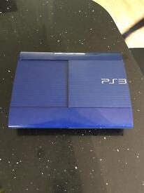 PS3 console - Limited Edition - Blue