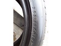 Tyres 255-40-19 x 1 tyre -- dunlop £30- open 7 days a week