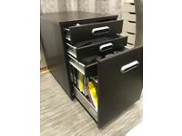 Great file cabinet with lock and 3 drawers!
