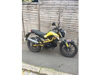 2015 KYMCO K PIPE 125cc NOT WORKING £500