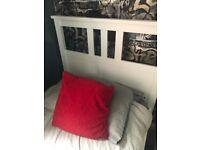 IKEA Hemnes Single Bed Frame and Mattress