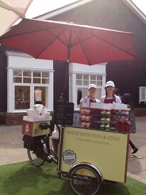 Outdoor catering staff required to sell products from our fantastic tricycle in Teddington area
