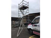 Alto industrial aluminium scaffold tower