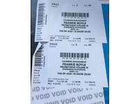 Frankie Boyle tickets x 2